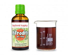 Afrodite pro ženy - bylinné kapky (tinktura) 50 ml