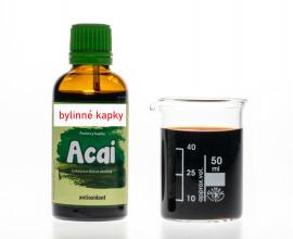 Acai - bylinné kapky (tinktura) 50 ml